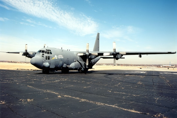 "DAYTON, Ohio -- Lockheed AC-130A ""Azrael"" at the National Museum of the United States Air Force. (U.S. Air Force photo)"