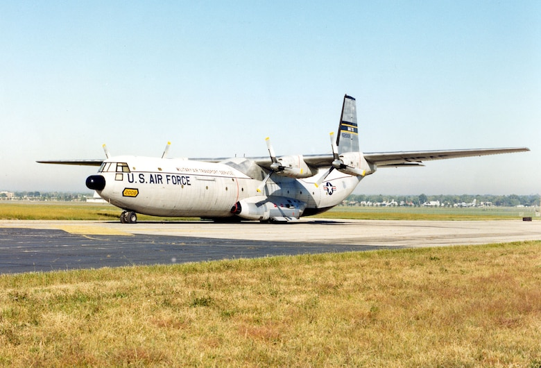 DAYTON, Ohio -- Douglas C-133A Cargomaster at the National Museum of the United States Air Force. (U.S. Air Force photo)