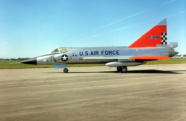 DAYTON, Ohio -- Convair F-102A Delta Dagger at the National Museum of the United States Air Force. (U.S. Air Force photo)
