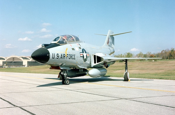 DAYTON, Ohio -- McDonnell F-101B Voodoo at the National Museum of the United States Air Force. (U.S. Air Force photo)