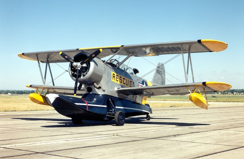 DAYTON, Ohio -- Grumman OA-12 Duck at the National Museum of the United States Air Force. (U.S. Air Force photo)