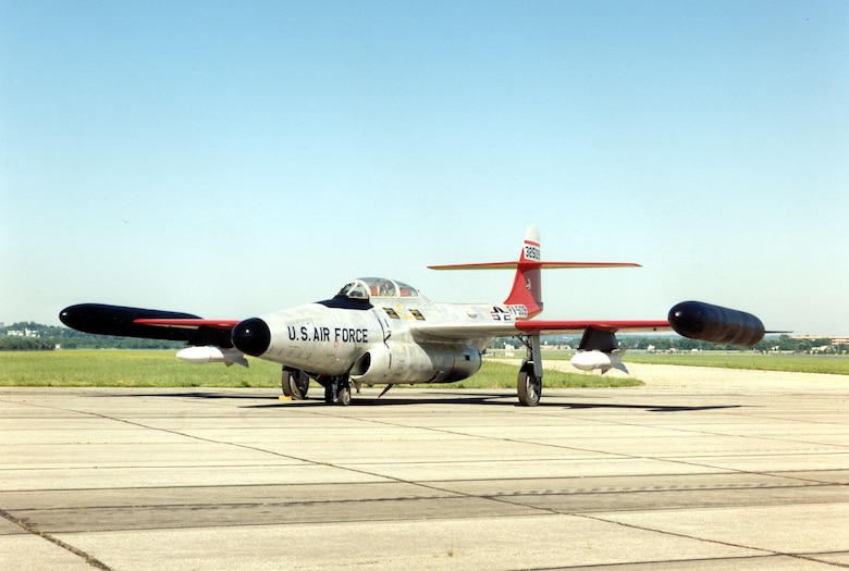 DAYTON, Ohio -- Northrop F-89J Scorpion at the National Museum of the United States Air Force. (U.S. Air Force photo)