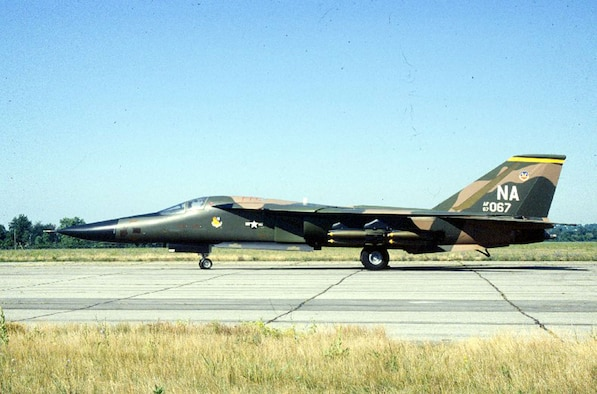 DAYTON, Ohio -- General Dynamics F-111A at the National Museum of the United States Air Force. (U.S. Air Force photo)