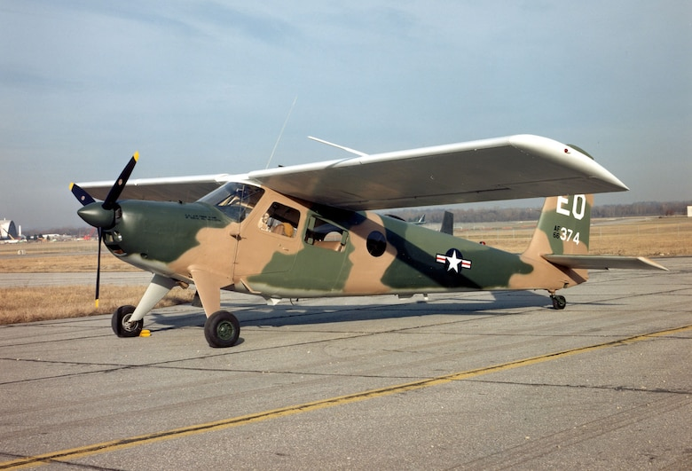 DAYTON, Ohio -- Helio U-10D at the National Museum of the United States Air Force. (U.S. Air Force photo)
