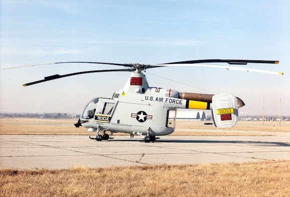 DAYTON, Ohio -- Kaman HH-43B Huskie at the National Museum of the United States Air Force. (U.S. Air Force photo)