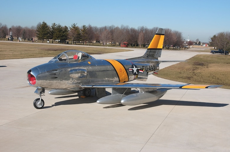 DAYTON, Ohio -- North American RF-86F at the National Museum of the United States Air Force. (U.S. Air Force photo)