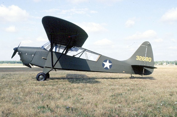 DAYTON, Ohio -- Interstate L-6 Grasshopperat the National Museum of the United States Air Force. (U.S. Air Force photo)