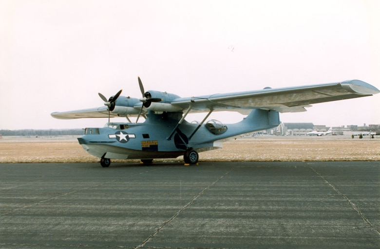 DAYTON, Ohio -- Consolidated OA-10 Catalina at the National Museum of the United States Air Force. (U.S. Air Force photo)