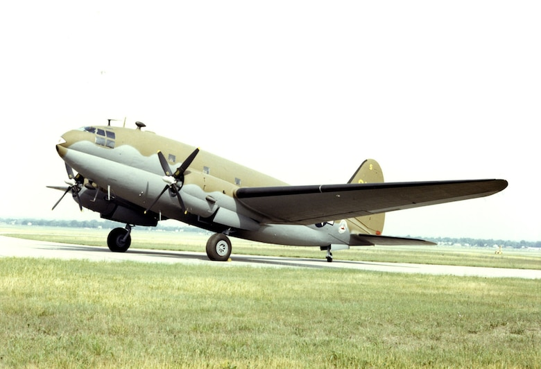 DAYTON, Ohio -- Curtiss C-46D Commando at the National Museum of the United States Air Force. (U.S. Air Force photo)