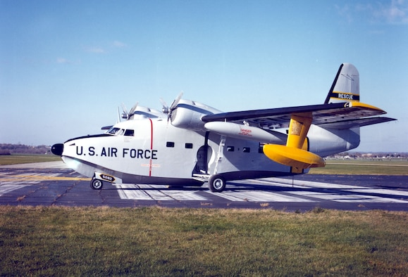 DAYTON, Ohio -- Grumman HU-16B Albatross at the National Museum of the United States Air Force. (U.S. Air Force photo)