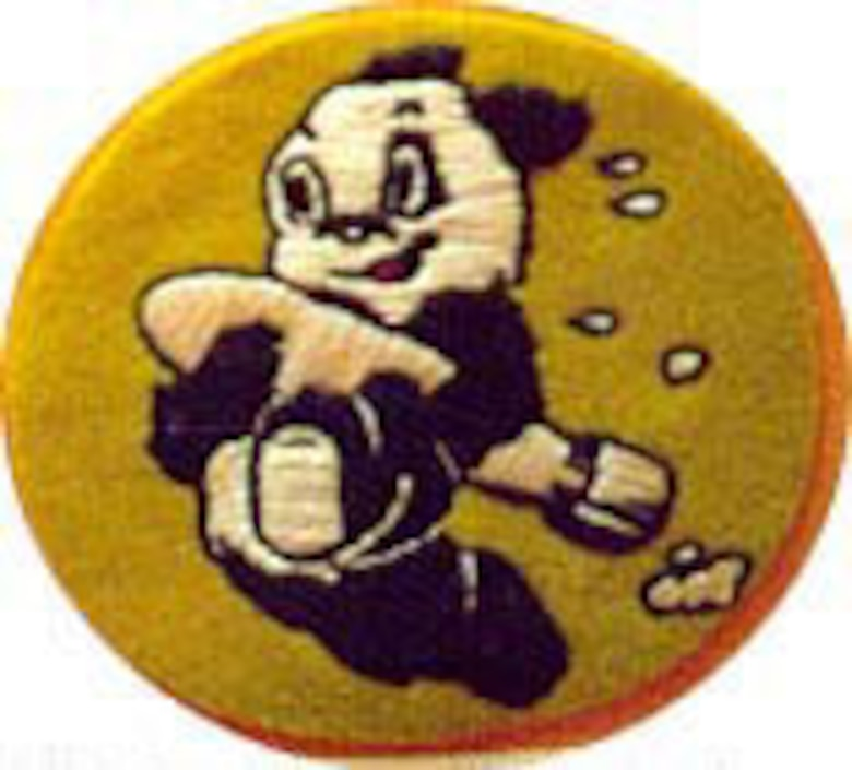 Jacket patch worn by Sgt. John D. Foley as a B-24 crew member with the 409th Bomb Squadron based in England in 1944. (U.S. Air Force photo)
