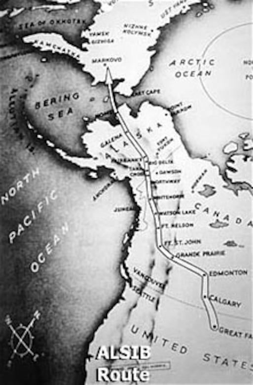 ALSIB Route. (U.S. Air Force photo)