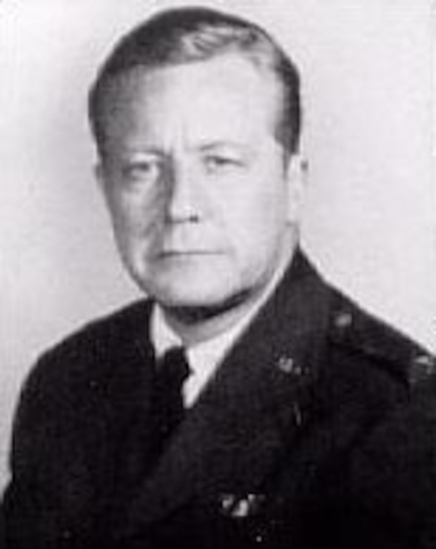 Col. Gene Raymond, USAF Reserve, in 1960. (U.S. Air Force photo)