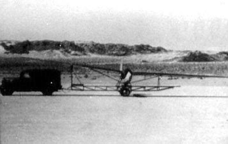 Sailplane used for basic flight training. (U.S. Air Force photo)