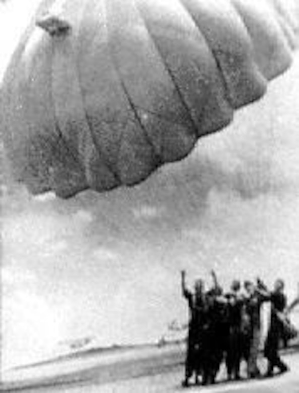 Parachute training. (U.S. Air Force photo)