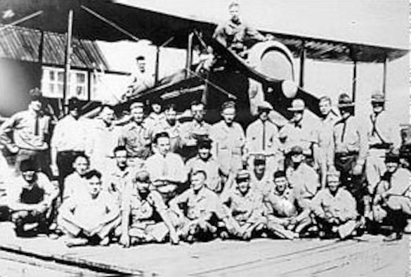 The first transcontinental flight across the United States within a 24-hour period was made by Lt. Jimmy Doolittle on Sept. 4, 1922. (U.S. Air Force photo)