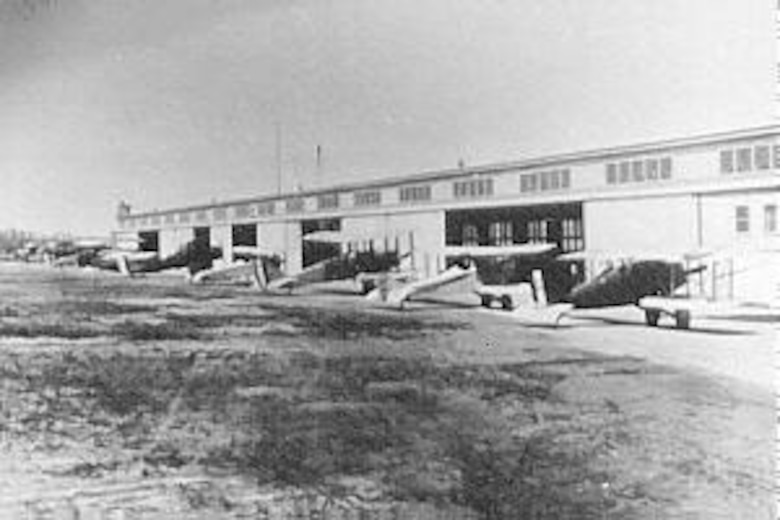 McCook Field flightline. (U.S. Air Force photo)