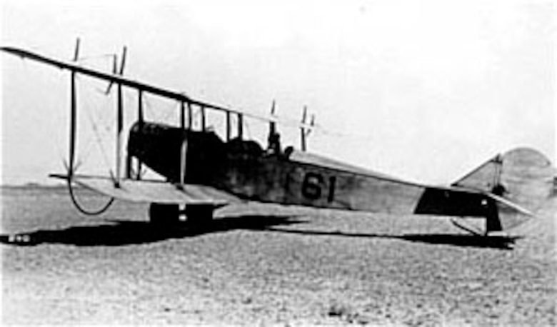 One of four Curtiss NBs used briefly by the 1st Aero Squadron in Mexico. (U.S. Air Force photo)
