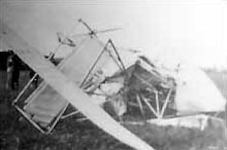 The first airplane crash resulting in the death of two or more U.S. military personnel occurred on Sept. 28, 1912. (U.S. Air Force photo)