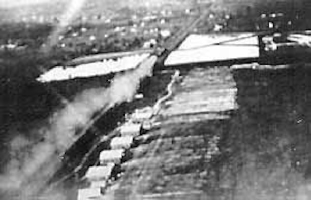 The Flying Field at College Park, September 1911. (U.S. Air Force photo)