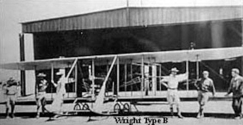Wright Type B. (U.S. Air Force photo)