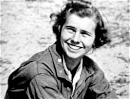 Gertrude Meserve was an instructor pilot who taught hundreds of students at Harvard and MIT. (U.S. Air Force photo)