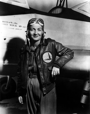 Mrs. Nancy Harkness Love, founder of the Women's Auxiliary Ferrying Squadron. (Photo courtesy of Woman's Collection, Texas Woman's University.)