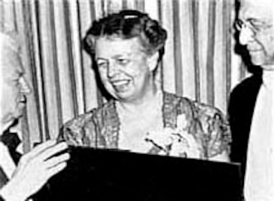 Eleanor Roosevelt. (U.S. Air Force photo)