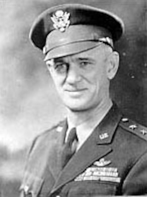 Maj. Gen. Hugh J. Knerr, first GHQ Air Force Chief of Staff. (U.S. Air Force photo)