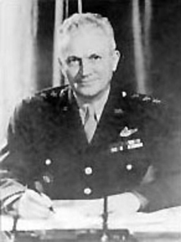 Lt. Gen. Frank M. Andrews, first GHQ Air Force Commander. (U.S. Air Force photo)