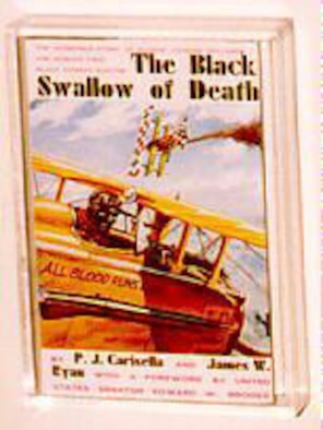 "Cover of ""The Black Swallow of Death,"" a book about Bullard. (U.S. Air Force photo)"