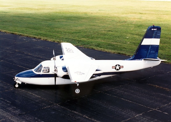 DAYTON, Ohio -- Aero Commander U-4B at the National Museum of the United States Air Force. (U.S. Air Force photo)