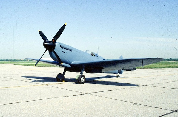 DAYTON, Ohio -- Supermarine Spitfire Mk XI at the National Museum of the United States Air Force. (U.S. Air Force photo)