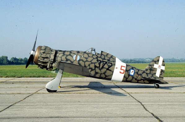 DAYTON, Ohio -- Macchi MC.200 Saetta at the National Museum of the United States Air Force. (U.S. Air Force photo)
