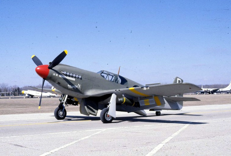 DAYTON, Ohio -- North American A-36A Apache at the National Museum of the United States Air Force. (U.S. Air Force photo)