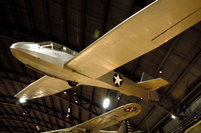 DAYTON, Ohio -- Schweizer TG-3A in the World War II Gallery at the National Museum of the United States Air Force. (U.S. Air Force photo)