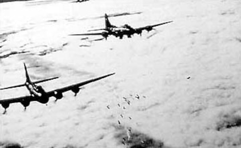 AAF bombers during World War II. (U.S. Air Force photo)