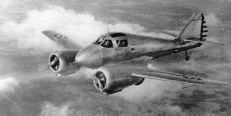 The Curtiss AT-9 was considered the AAF's most difficult and tricky aircraft to fly. (U.S. Air Force photo)