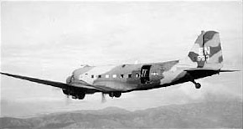 AC-47D of the 14th Special Operations Wing. (U.S. Air Force photo)