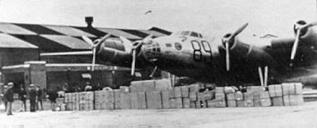 On Feb. 4, 1939, the XB-15 took off from Langley Field, Va., on an Air Corps mercy flight to Chile. Loaded with medical supplies for earthquake victims, the plane landed in at Santiago only 30 hours after leaving Langley, including two refueling stops in Panama and Peru. (U.S. Air Force photo)