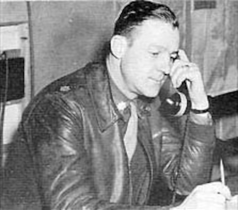 Lt. Col. Addison E. Baker, commander of the 93rd Bomb Group for the Ploesti Mission, Aug. 1, 1943. (U.S. Air Force photo)