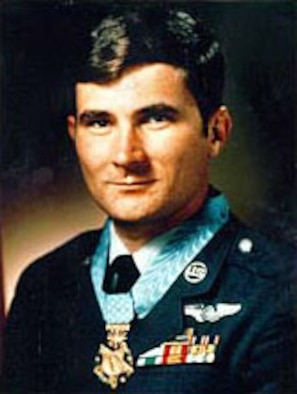 Sgt. John L. Levitow. (U.S. Air Force photo)