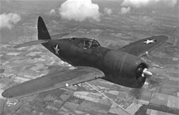 Republic P-47. (U.S. Air Force photo)