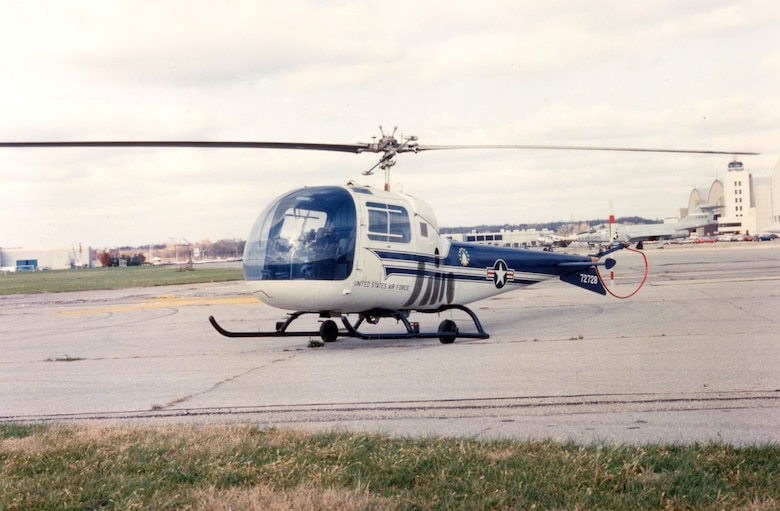 DAYTON, Ohio -- Bell UH-13J Sioux at the National Museum of the United States Air Force. (U.S. Air Force photo)
