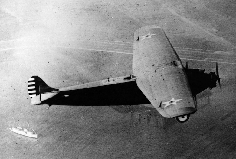 "Atlantic-Fokker C-2 ""Bird of Paradise"" in flight. (U.S. Air Force photo)"