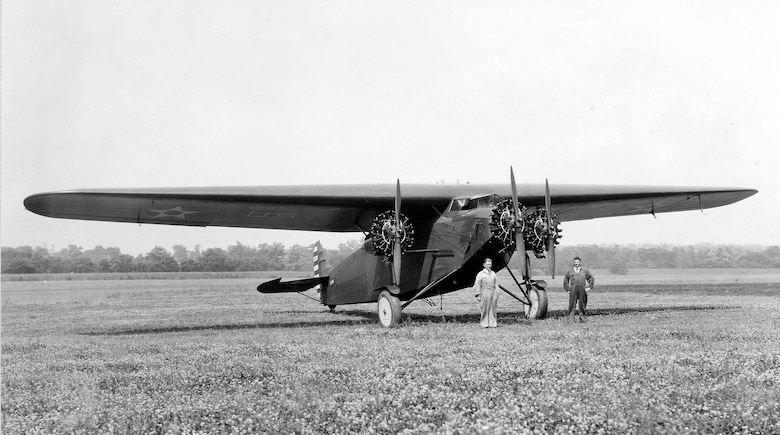"Atlantic-Fokker C-2 ""Bird of Paradise"" 3/4 front view. (U.S. Air Force photo)"