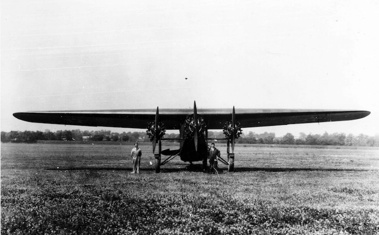 "Atlantic-Fokker C-2 ""Bird of Paradise"" front view. (U.S. Air Force photo)"
