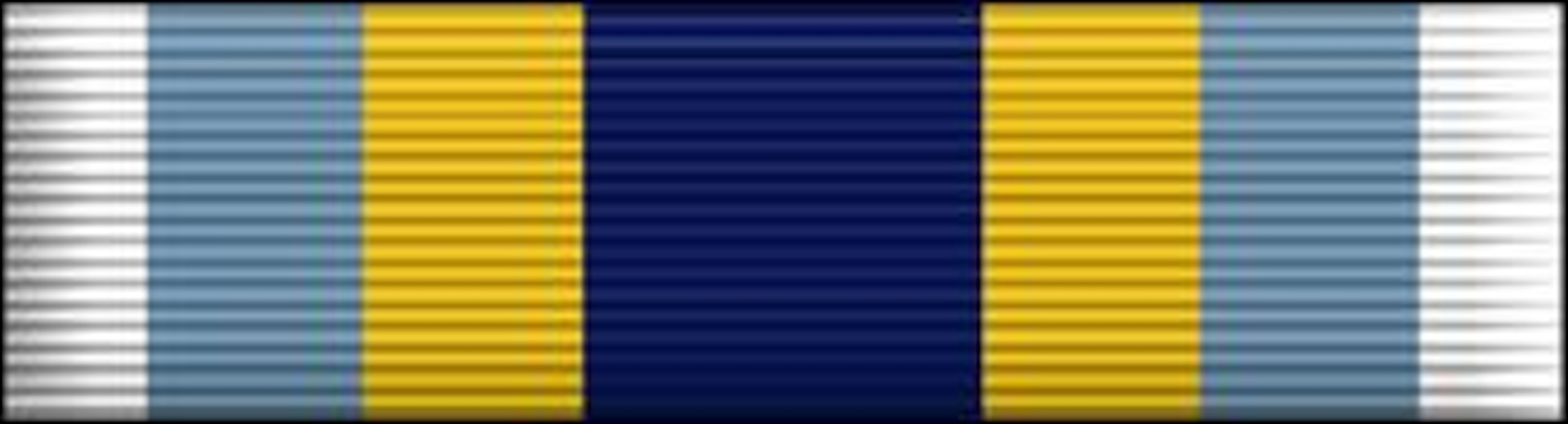 USAF Basic Military Training Honor Graduate Ribbon, Air Force Awards and Decorations (enhance color), U.S. Air Force graphic, AFNEWS/PAND.  The JPG image is a stylized version whereas the EPS version is a two-dimensional line art illustration.