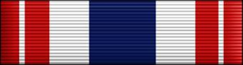 Meritorious Unit Award, presented to USAF Active Duty, AFRes, and ANG units for exceptionally meritorious conduct in the performance of outstanding achievement or service indirect support of combat operations for at least 90 continuous days during the period of military operations against an armed enemy of the US on or after 11 Sep 2001. Air Force Awards and Decorations (enhance color), U.S. Air Force graphic, AFNEWS/PAND.  The JPG image is a stylized version whereas the EPS version is a two-dimensional line art illustration.