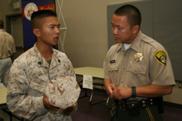 29 palms job fair unites talent with opportunities headquarters marine corps news article - Correctional officer jobs ...